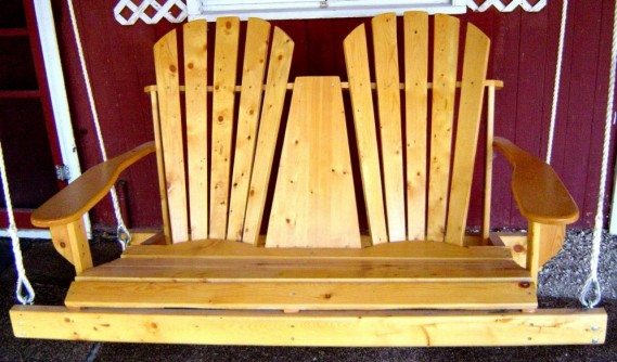 Wooden Chair Swing #2